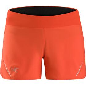 Arc'teryx Lyra - Pantalones cortos Mujer - naranja